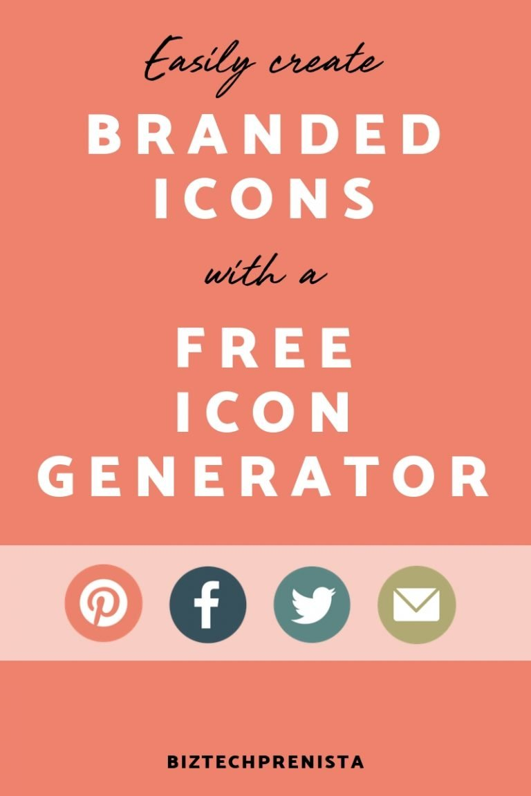 Easily Create Branded Icons with a Free Icon Generator