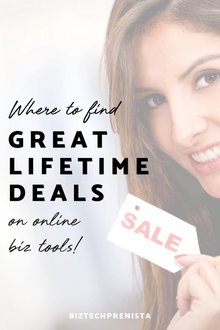 Where to Find Great Lifetime Deals on Online Biz Tools