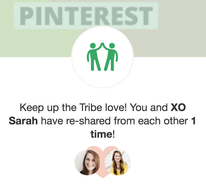 Tailwind Tribes Free - Sometimes When You Share Someone's Pin They Will Check Out Your Pins and Return the Favor