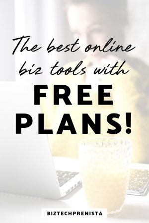 Best Online Biz Tools with FREE Plans to Grow with You